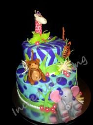 #180- Purple Jungle Babies
