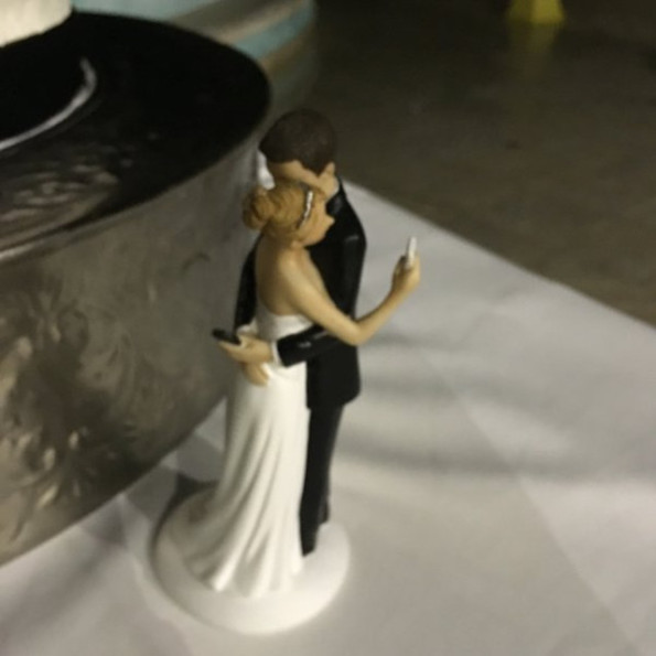Meet The Saddest Wedding Cake Topper Of All Time