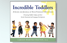 Incredible Toddlers by Carolyn Webster-Stratton