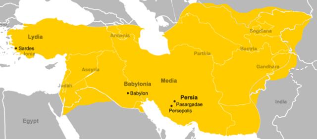 império de Ciro o Grande