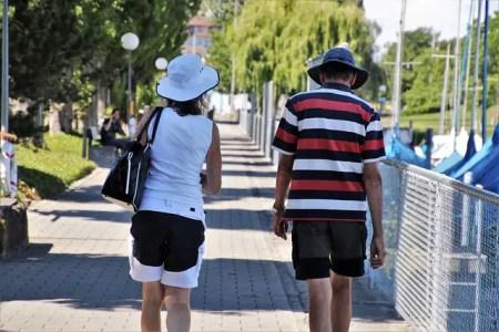 Les touristes en Provence