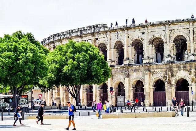 Guide de Nîmes dans le Sud de la France (Provence)