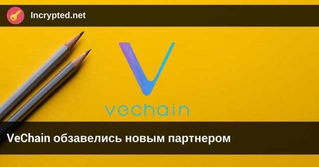 VeChain обзавелись новым партнером