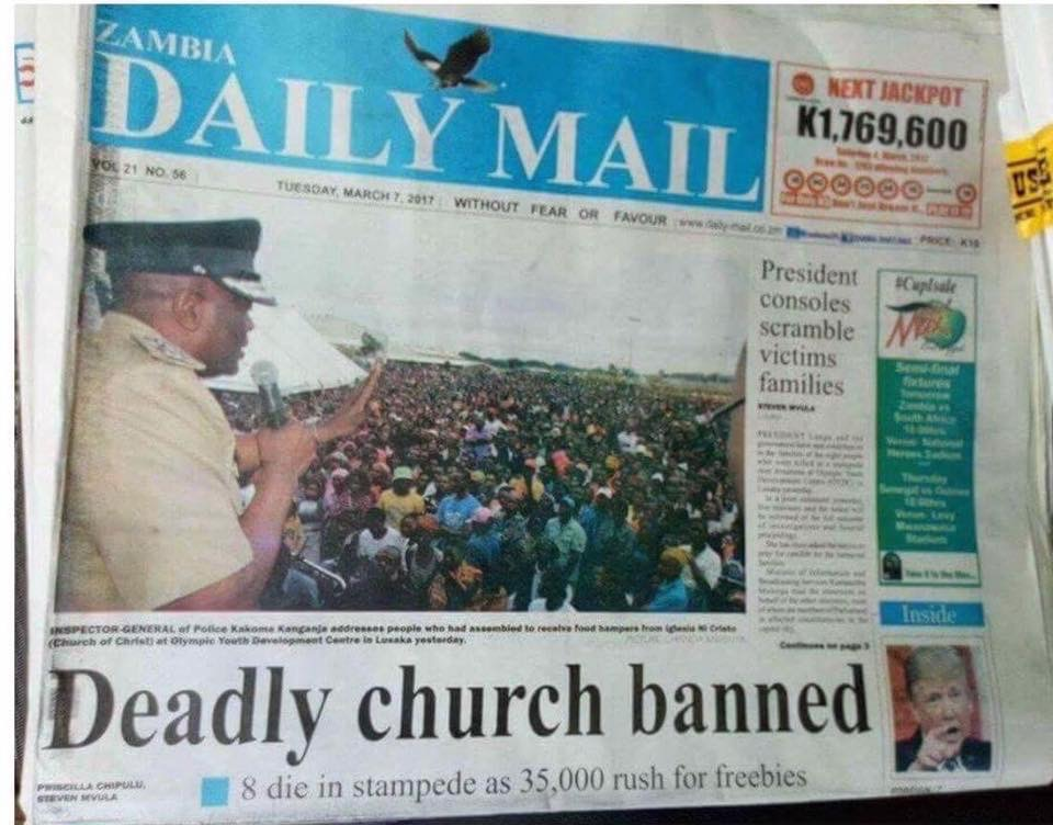 Deadly Church Banned in Africa