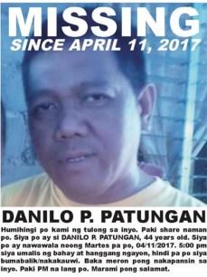 Danilo Patungan Missing