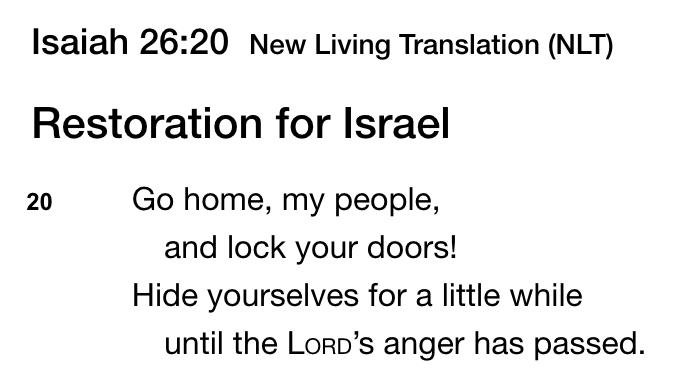 Isaiah 26,20