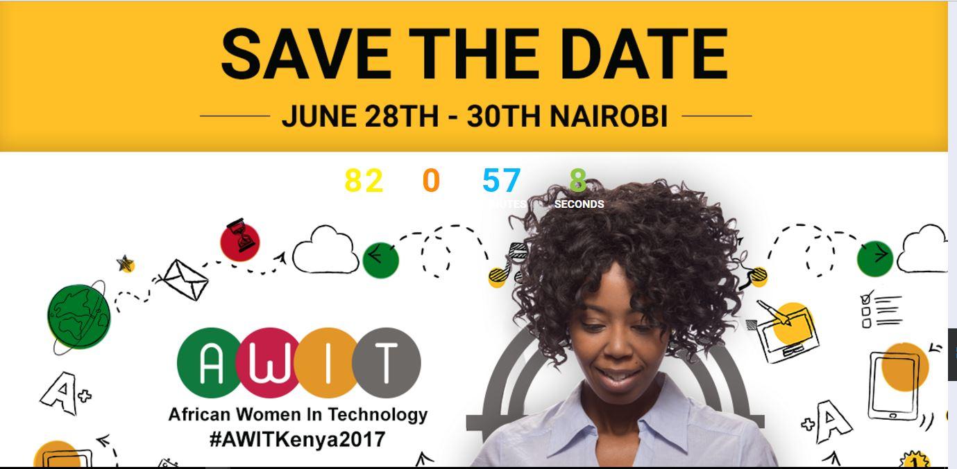 Apply as a speaker towards AWIT Kenya 2017.