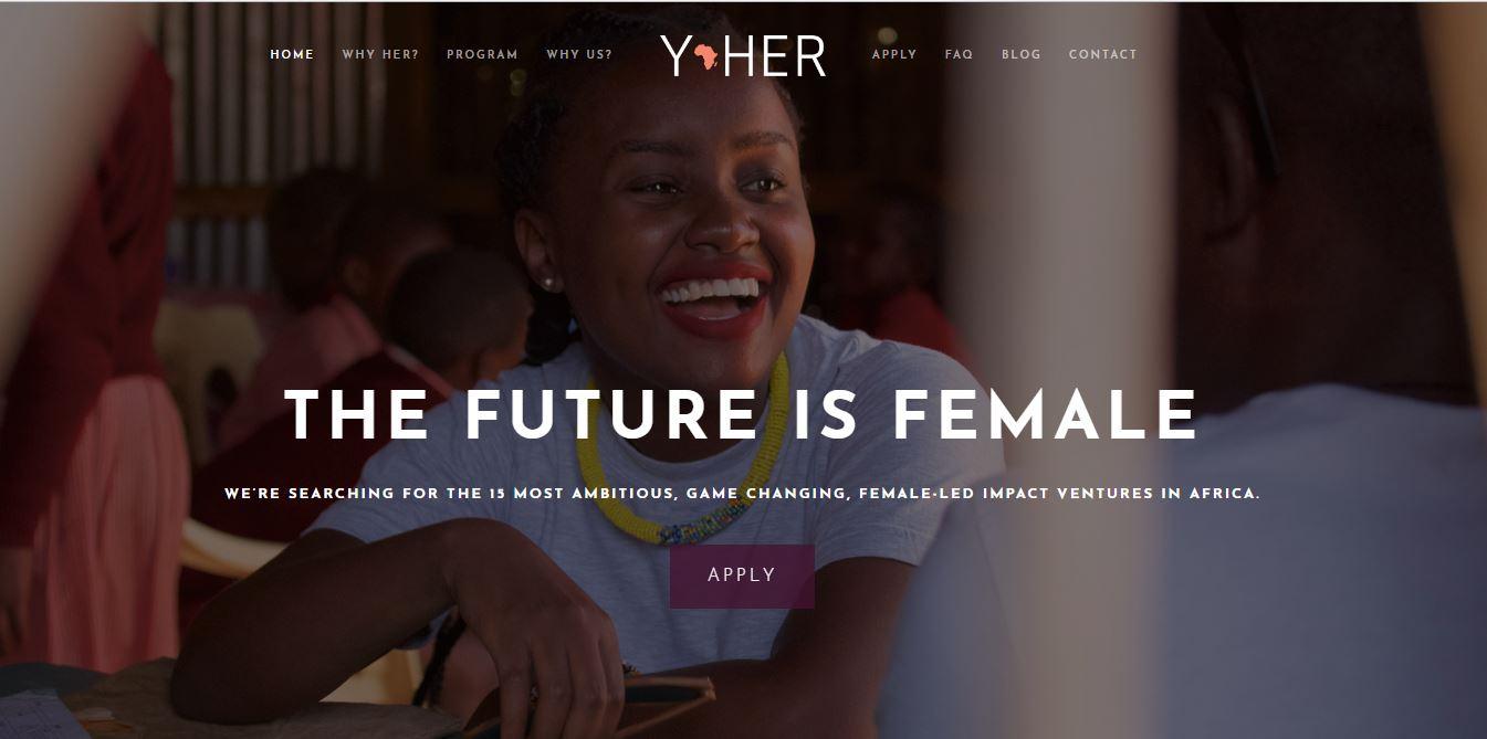 Y-HER accelerator calling for African Female Entrepreneurs