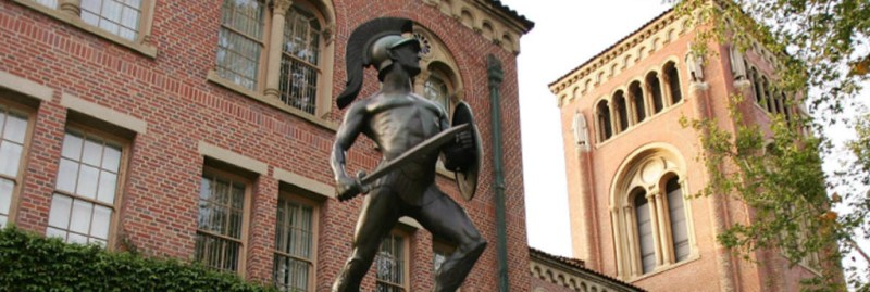 Tommy Statue at USC