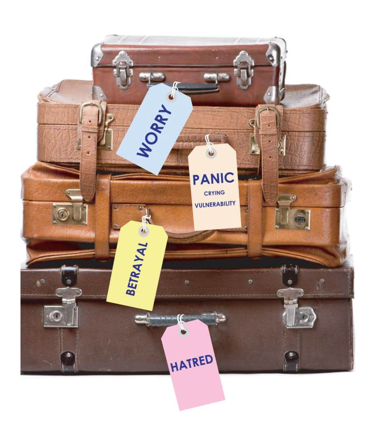 emotional baggage is weighing you down