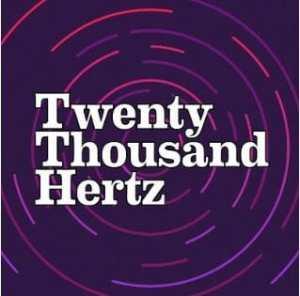 20k Hz podcast logo sound editing