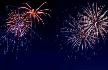 Fireworks microscopy biology cells fluorescent luminescent