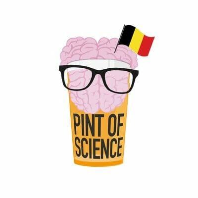 belgium logo pint of science festival