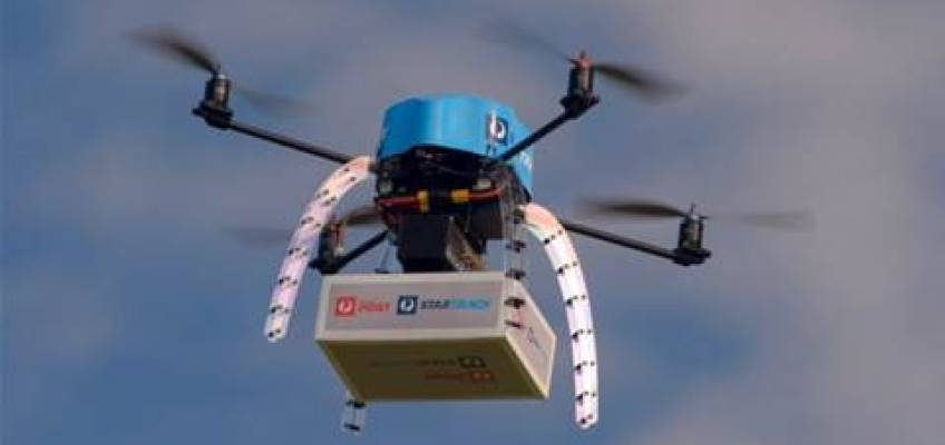 Now national postal agency introduce Drone for delivering service in Australia!