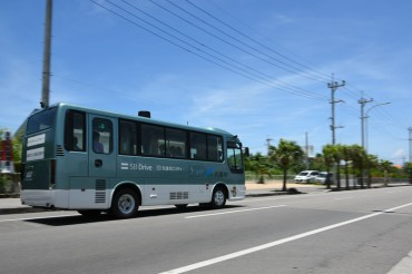 Self-driving bus comes true earlier than cars!? -2-