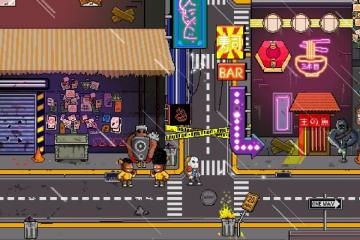 Neon City Riders screenshot