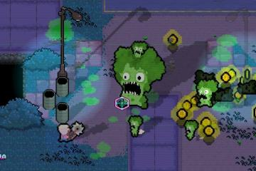 The Walking Vegetables screenshot