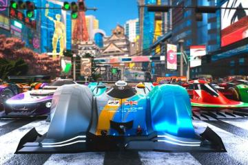Xenon Racer screenshot