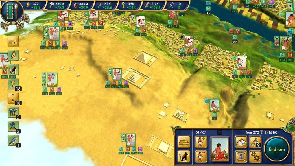 Egypt: Old Kingdom screenshot - indie game