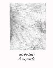 """p.5 cuento """"Día amargo"""" grafito."""
