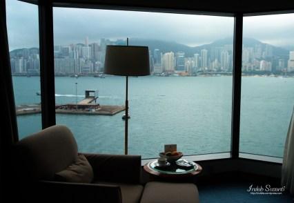 Hong Kong Hotel Windows View