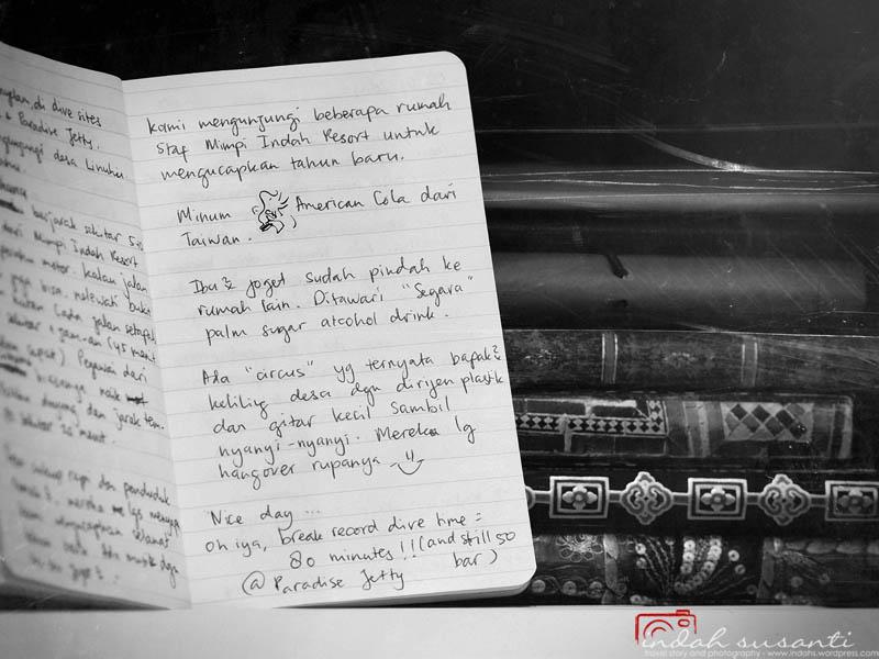 Handwritten Travel Journal