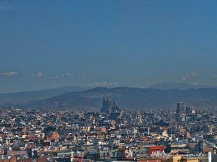 View of Barcelona from Montjuïc Hill