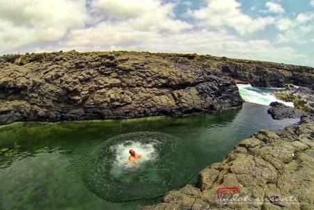 Buracona natural swimming pool