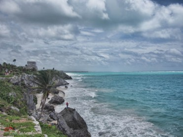 El Castillo from distance (image by indahs)