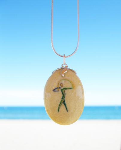 Rainbow Warrior charmstone from Indalo Art