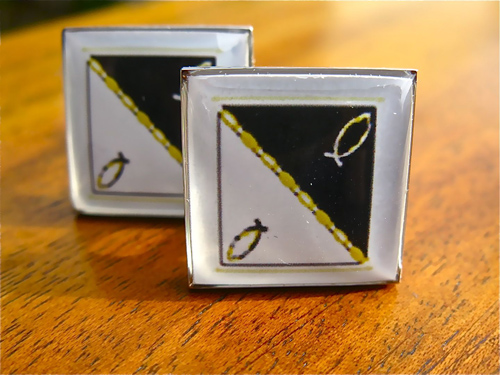 Gift of faith cufflinks