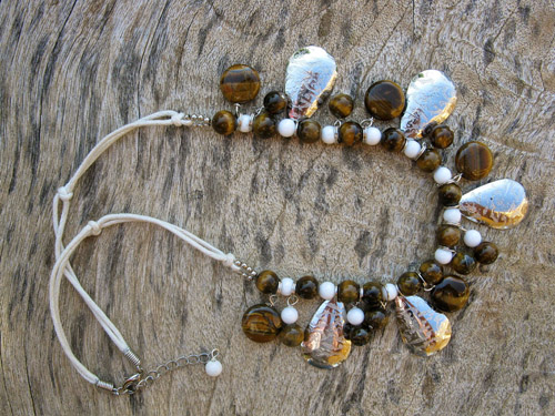 Tigers Eye Lucky Necklace