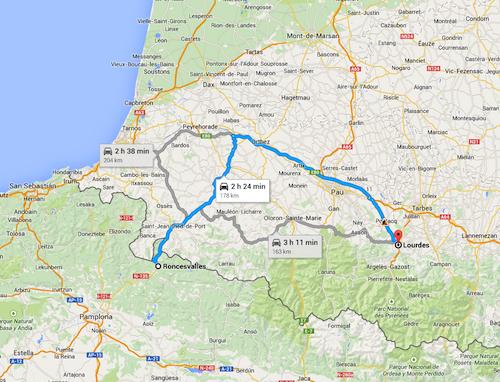 Lourdes-Saint-Jean-Pied-de-Port