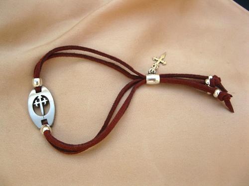 Camino bracelet of St James and the Spanish pilgrim way