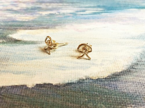 Indalo stud earrings