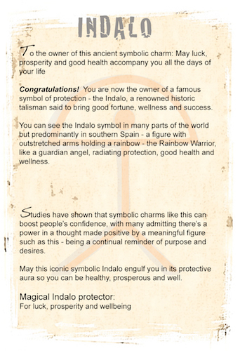 Indalo wellness card