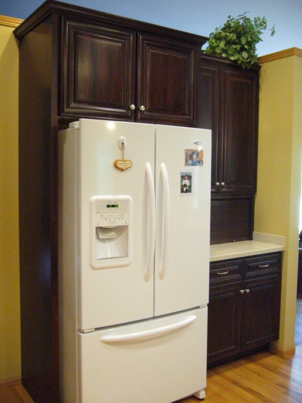 Refrigerator Cabinet And Appliance Garage Indeco Llc