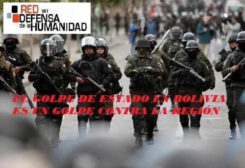 The Coup D'Etat in Bolivia is a Coup Against the Region
