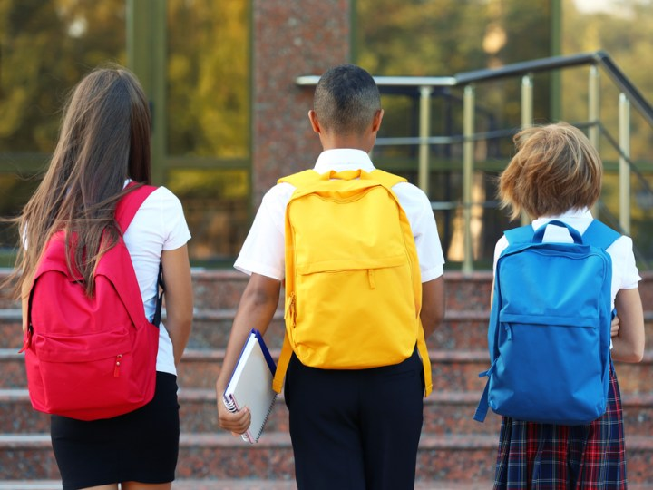 Students go back to school