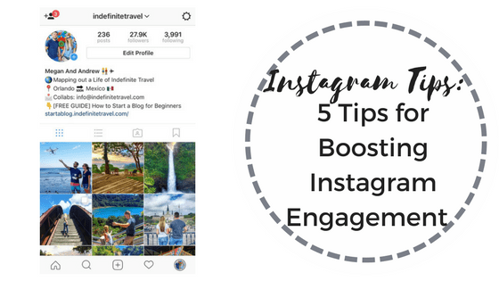 Instagram Tips: 5 Tips for Boosting Instagram Engagement