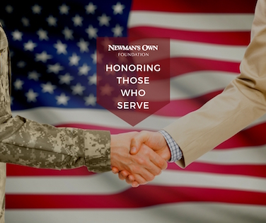Newman's Own honoring those who serve