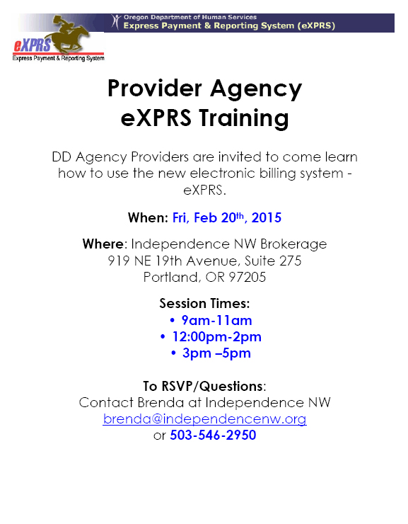 Agency_eXPRS_Training