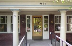 Entryway to Original INW Building