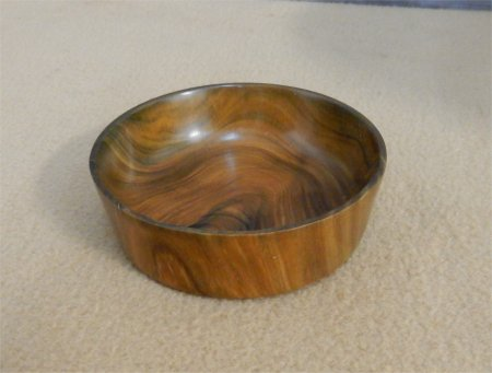 Bowl of ironwood from Dominican Republic by Gale Markley