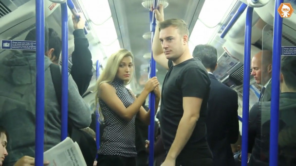 Video This Groping Social Experiment Reveals What Happens When A Woman Is Groped On The Tube