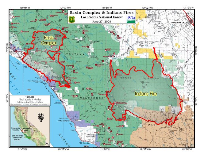 California Wildfires Map Today Fire - Us wildfire map