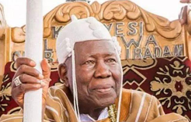 Buhari Greets Olubadan Of Ibadan, Oba Adetunji At 90