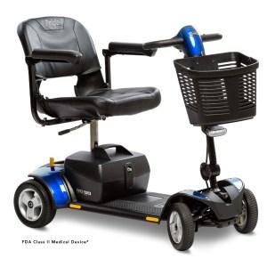 Go-go elite traveller plus 4 wheel in blue