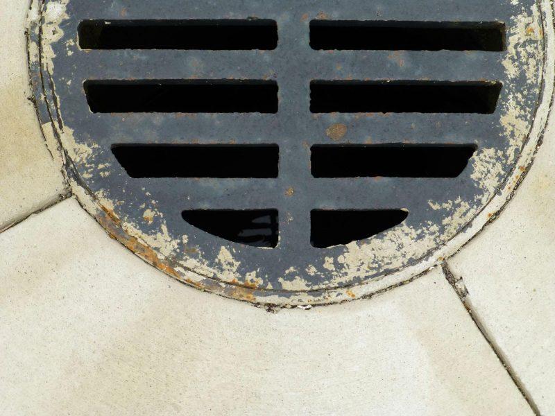 Sewer sewage drain