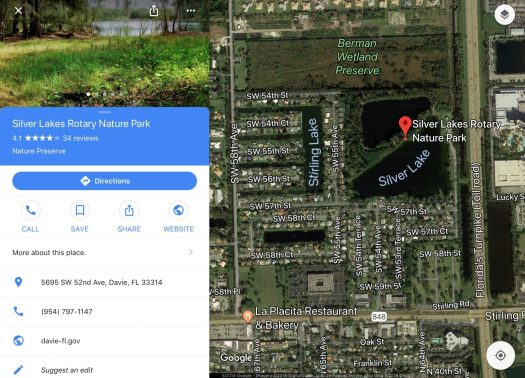 Silver Lakes Rotary nature Park